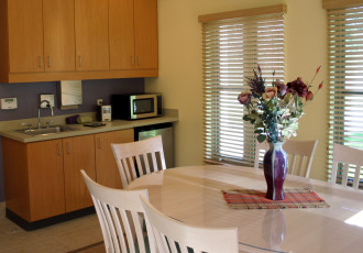Informal Family Room Kitchen Area