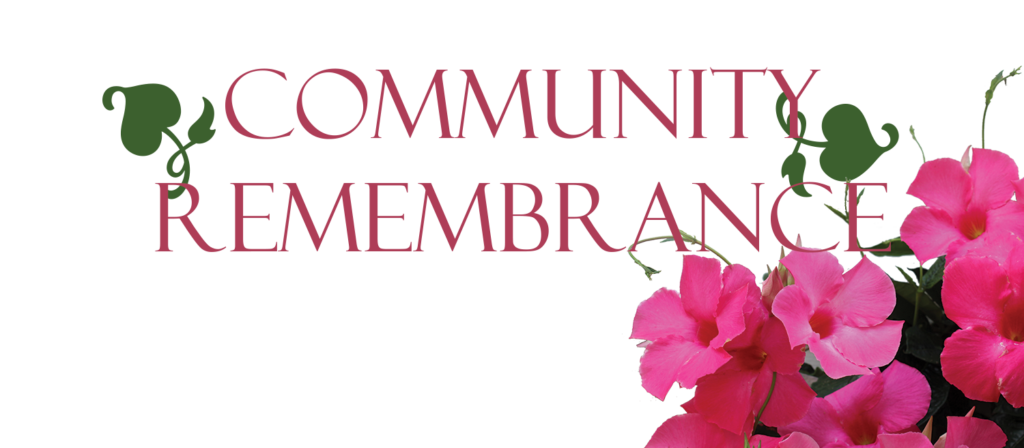 6th Annual Community Remembrance Service