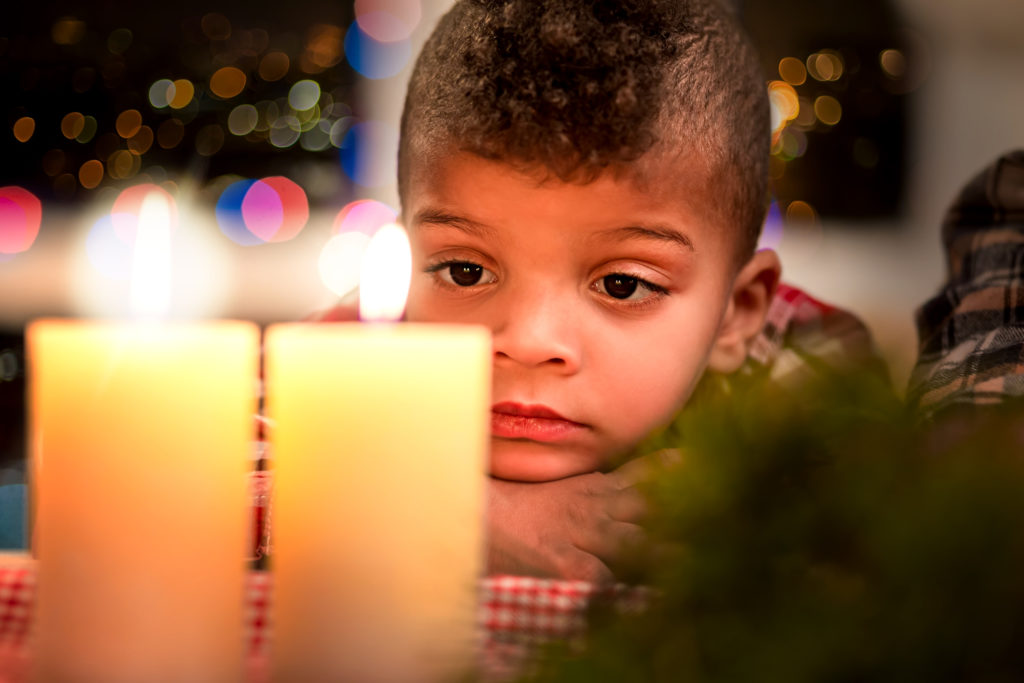 child holiday grief