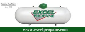 Excel Propane Tank Logo
