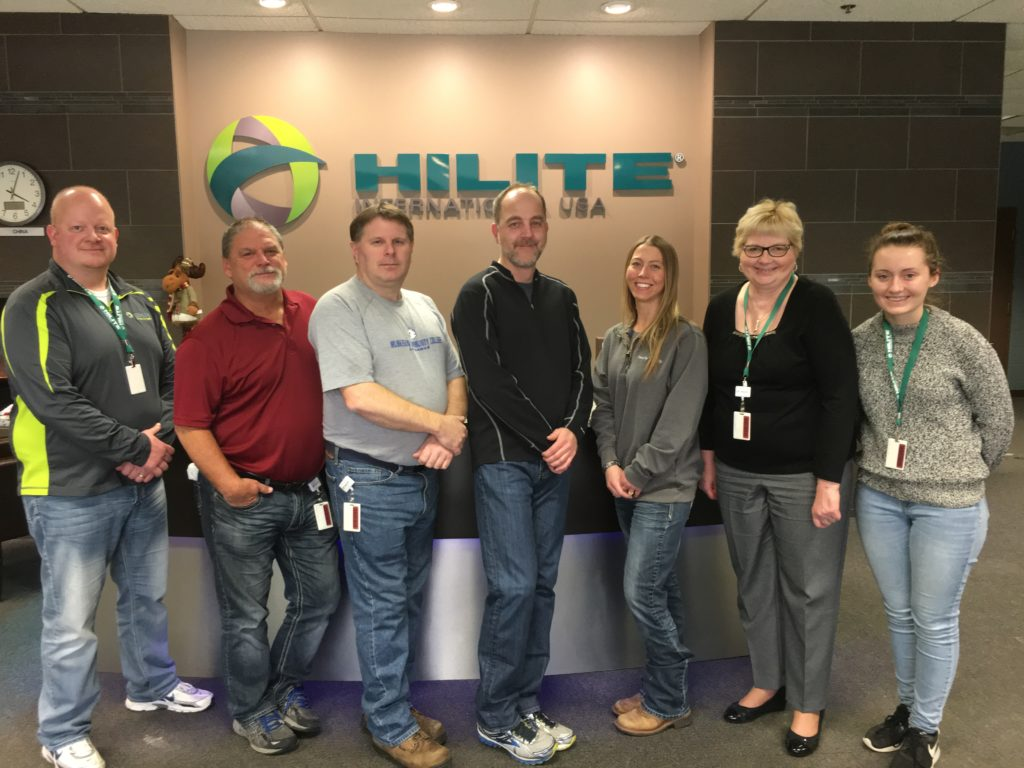 Hilite International Whitehall Community Involvement Team 1.22.18 1024x768 - Thank You Hilite International! A Caring Community