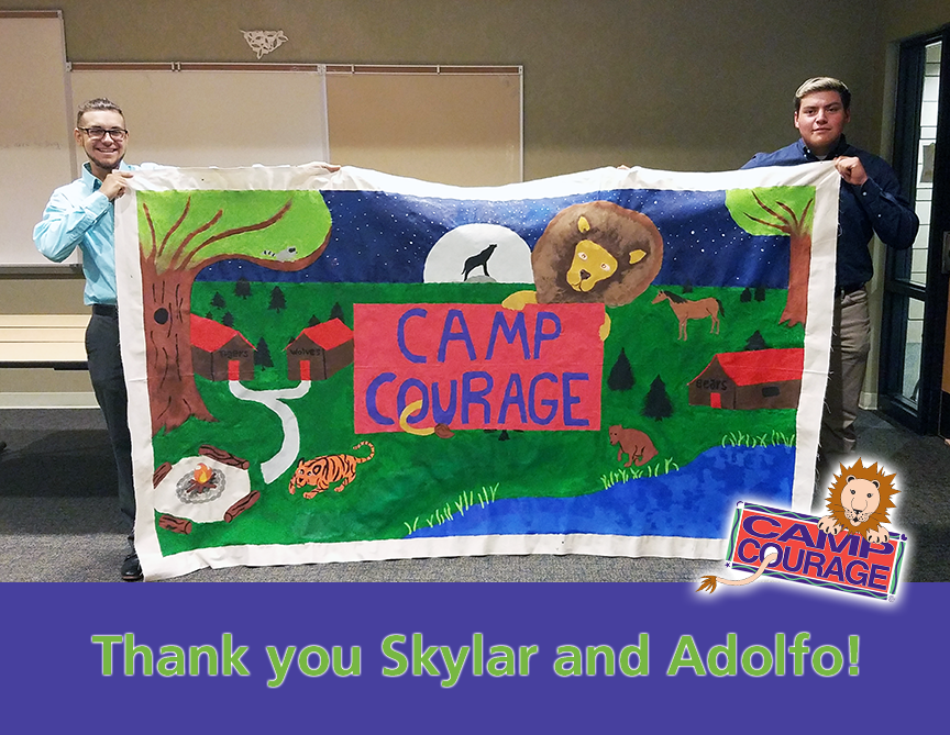Thank You Skylar and Adolfo! A Caring Community