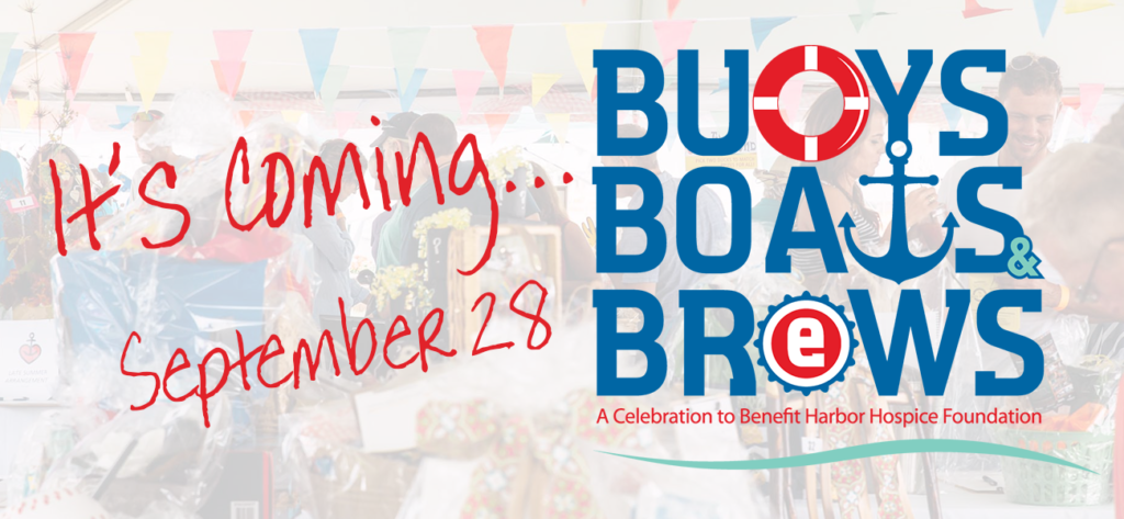 Tickets NOW ON SALE...September 28th BUOYS, BOATS AND BREWS