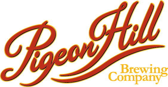 PigeonHill Logo Script CMYK - Buoys, Boats, and Brews