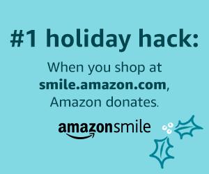 Amazon Smile Holiday Web Banner 300x250 - Donate