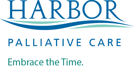"Harbor Hospice logo palliative mission web - Meet Marge.  ""Supportive care for her serious illness."""