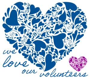We Love Our Volunteers 300x263 - We Love Our Volunteers. It's National Volunteer Appreciation Week