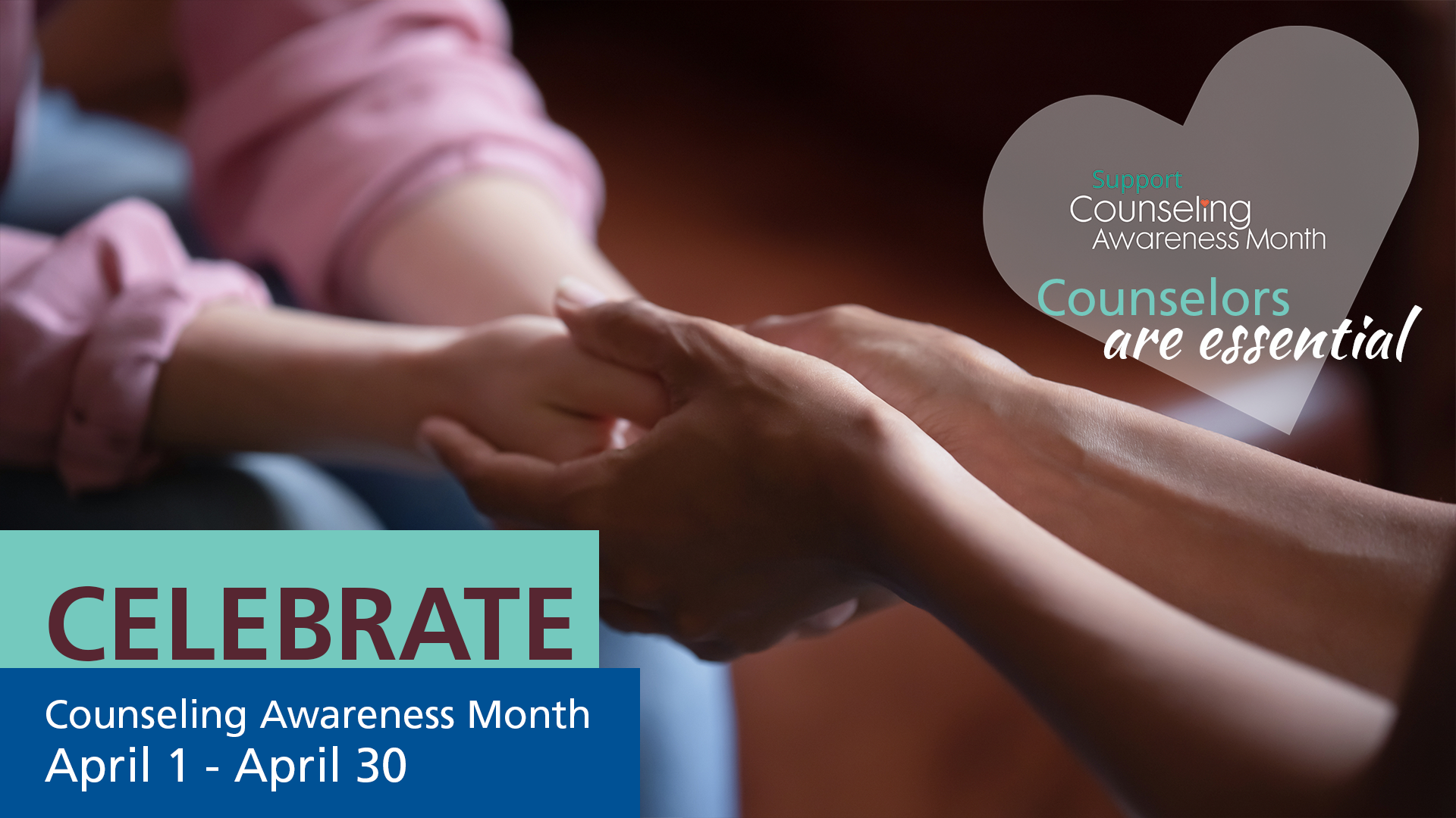 Announcement National Week Month counseling - We Love Our Bereavement Counselors. It's Counseling Awareness Month!