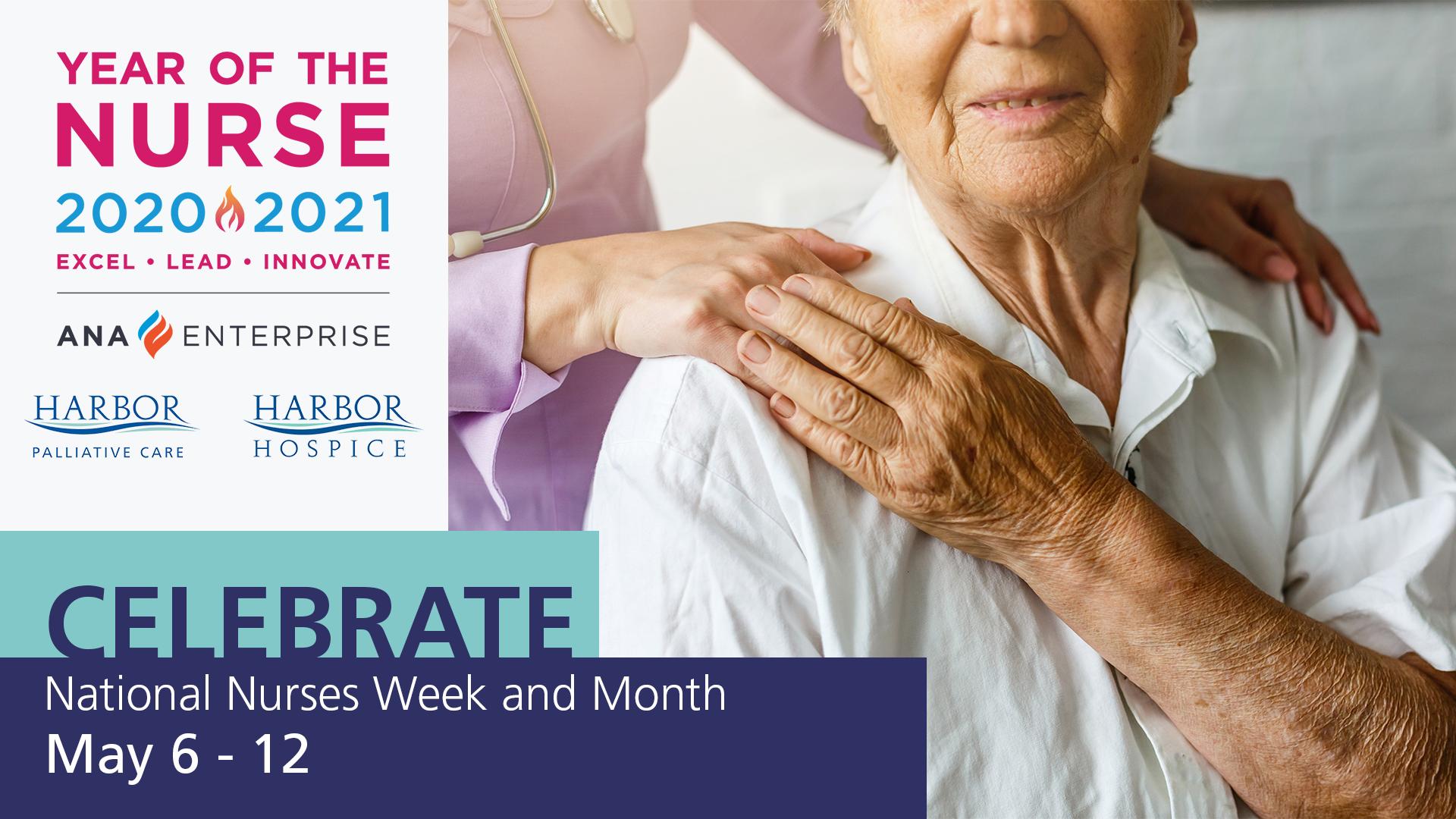 Announcement National Week Month nurses - We Love Our Nurses. It's National Nurse Week and Month.