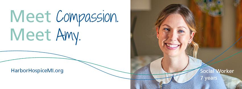 HH Meet Compassion. Meet Amy 2021 Facebook Header - Meet Compassion. Meet Amy.