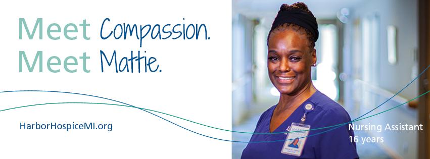 HH Meet Compassion. Meet Mattie 2021 Facebook Header - Meet Compassion. Meet Mattie.