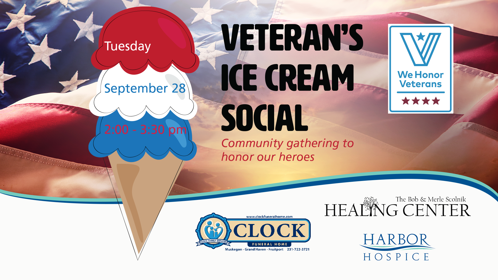 Event Header Veterans Ice Cream Social - Veteran's Ice Cream Social